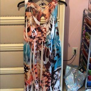 Boston proper printed dress